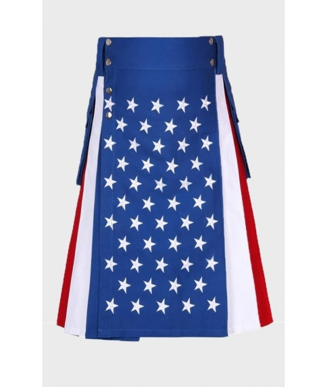 American flag utility kilt